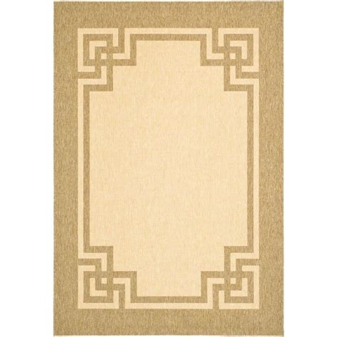 martha stewart living rugs martha stewart living deco frame beige beige 5 ft 3 in x 7 ft 7 in area rug msr4122k 5