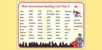 superhero themed spelling list year 2 word mat superhero