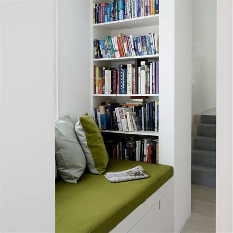 13 built in library bookshelf reading nook my home rocks