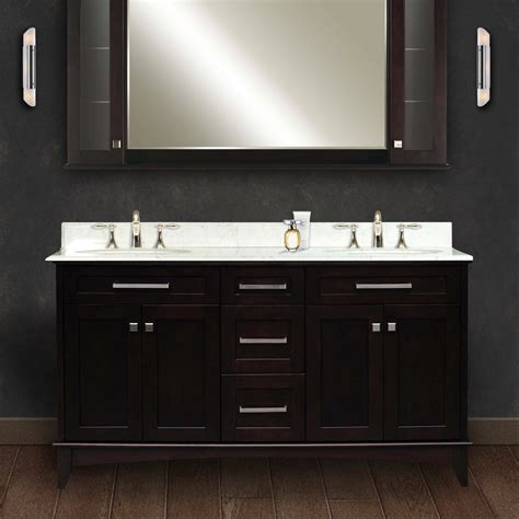 bathroom vanities 60 double sink 60 inch double sink bathroom vanity a realistic review