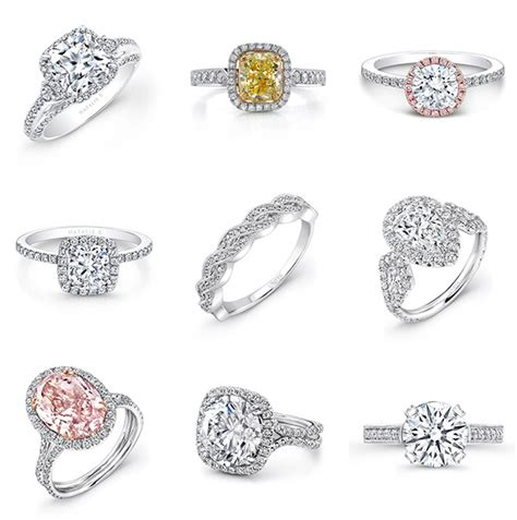 Engagement Ring Band Styles by Choosing Your Engagement Ring Style Junebug Weddings
