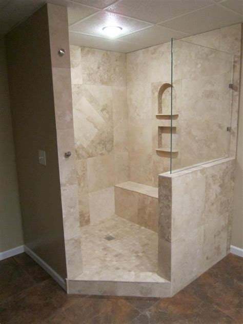 travertine tile shower designs travertine shower walk in shower out of travertine my work pinterest