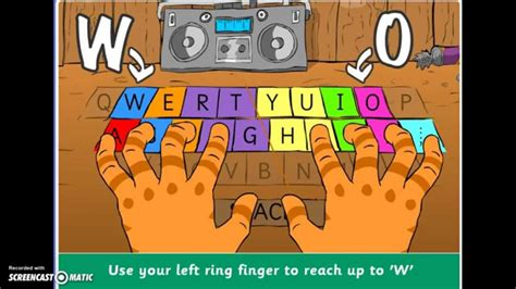 Mat Typing Mat Typing by Mat Typing Stage 2 Level 5