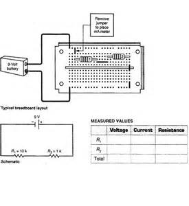 series resistor current measurement a insert the multimeter in series to measure the t chegg