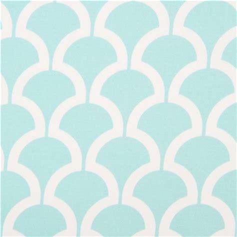 Light Blue Pattern by Light Blue Pattern Cotton Sateen Fabric Michael Miller