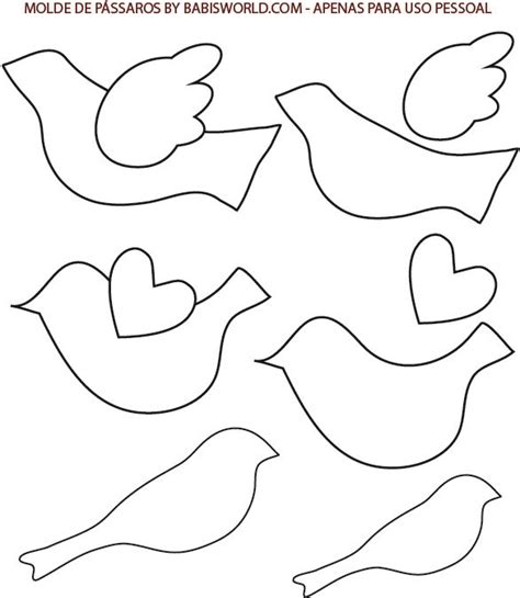 craft templates free printables and bird templates mosaic patterns