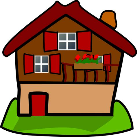 home clipart cartoon house clip art at clker com vector clip art
