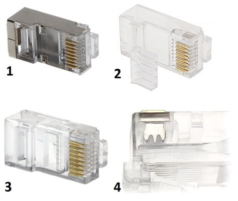 Konektor Rj45 Cat 6 rj45 connector delta