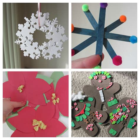 kids christmas crafts nerd family