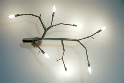 tree branch light fixture great placement of tree branch light fixture to
