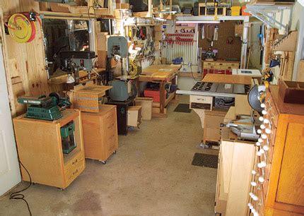 Home Wood Workshop Design