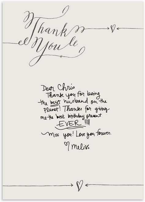 Thank You Note Writing Template Stationery The Well Appointed Desk Page 2