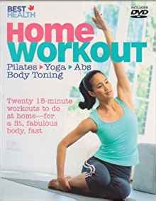 best health home workout pilates abs toning with
