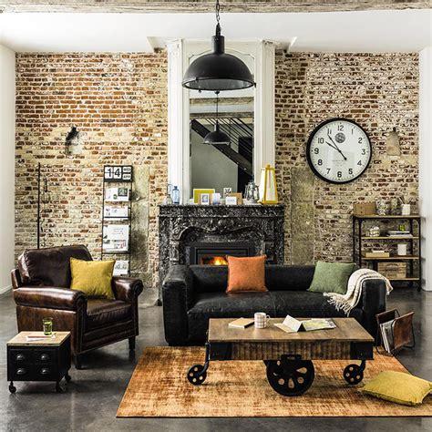 industrial style deko arredamento industriale stile industriale maisons du monde
