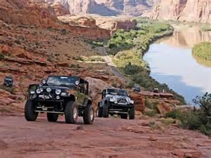 Jeep Utah 0805 4wd 03 Z Moab Utah Roading Jeep Safari Photo
