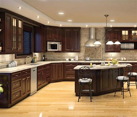 signature chocolate ready to assemble kitchen cabinets vero chocolate rta kitchen cabinets ready to assemble