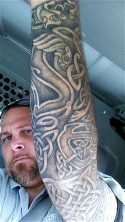 quarter sleeve celtic tattoo sleeve ideas on pinterest celtic tattoos celtic and