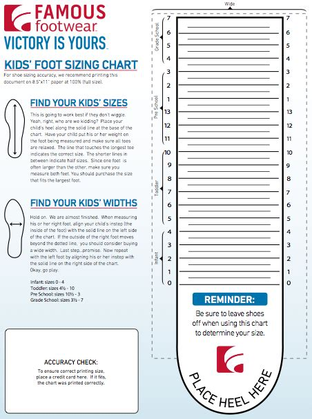 printable shoe size measurement tool the importance of measuring children s feet to fit shoes