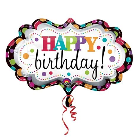 Happy Birthday Balloons Clip