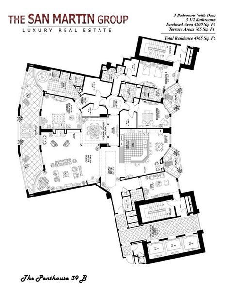luxury estate floor plans 1000 ideas about condo floor plans on condos