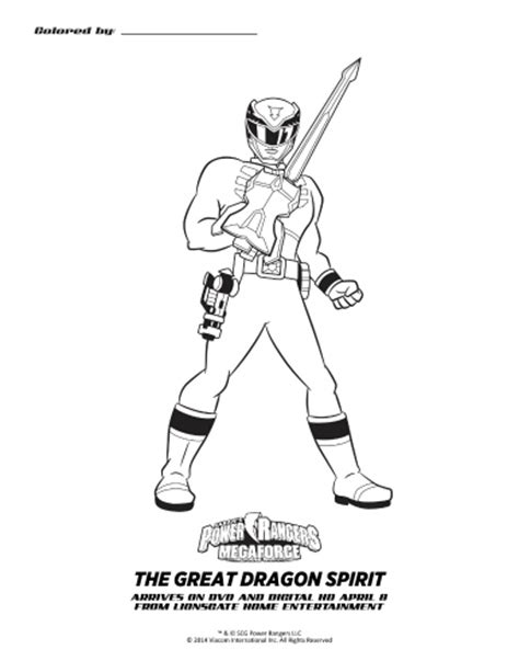 power rangers megaforce coloring pages printable power rangers megaforce free coloring pages
