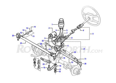 land rover parts diagram land rover discovery steering box land free engine image