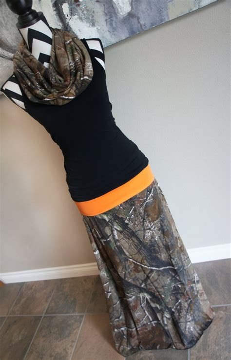 realtree camo ap s maxi skirt by