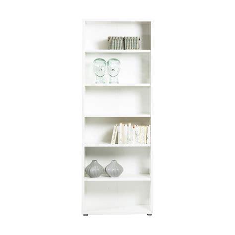 Shop Tvilum Bocca White Wood 5 Shelf Bookcase At Lowes Com 5 Shelf Bookcase White