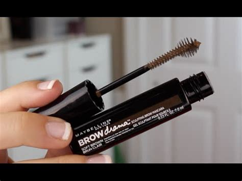 Maybelline Brow Drama Mascara maybelline brow drama sculpting brow mascara review