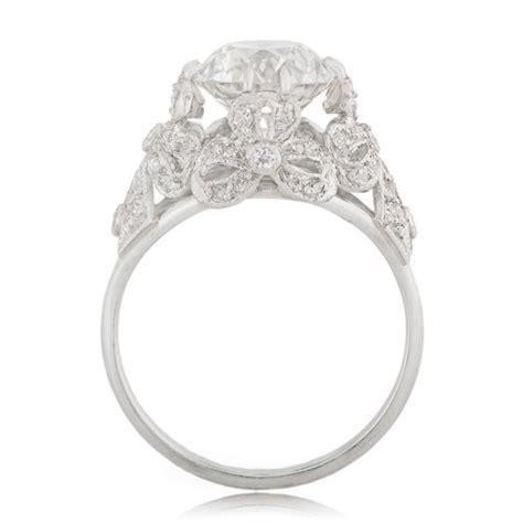edwardian style engagement ring estate jewelry