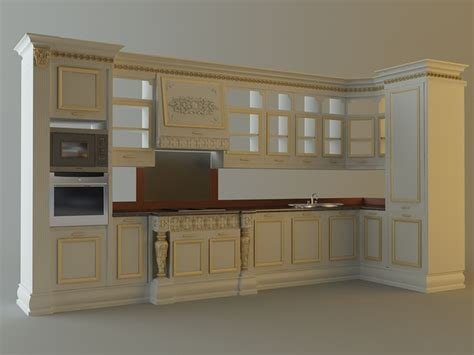 kitchen cabinets models kitchen cabinets appliances 28663 3d cgtrader
