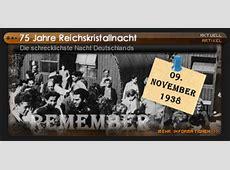 75 Jahre Reichskristallnacht - Die schrecklichste Nacht ... Housetime Fm