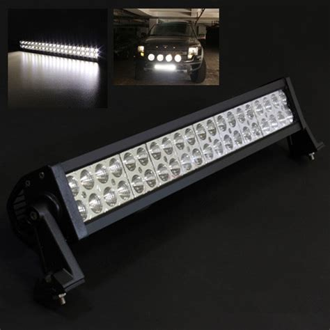 120w Led Light Bar Neon Led Lights 21 5 Quot 120w 40 Led Offroad Light Bar Flood Spot Beam Jeep Truck Suv Atv Work