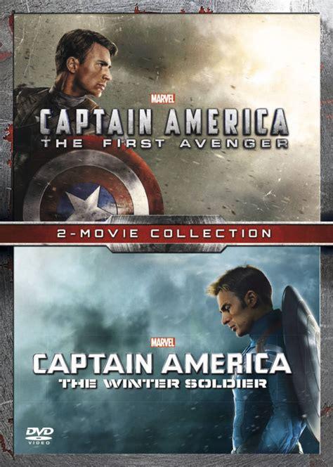 Captain America Boyset captain america the avenger captain america the winter soldier dvd zavvi