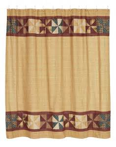 cortina ba 241 o country primitive shower curtain