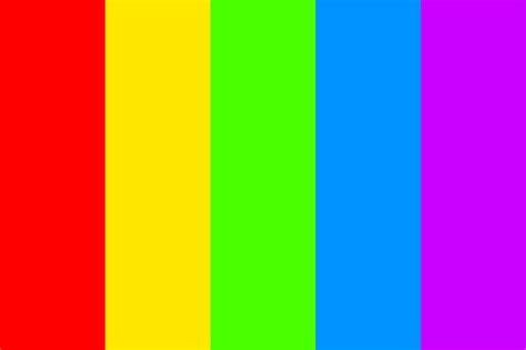 colorful colors sharp rainbow color palette