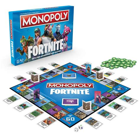 fortnite monopoly hasbro sort monopoly fortnite