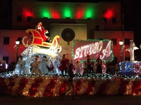 christmas parade greenville tx official website