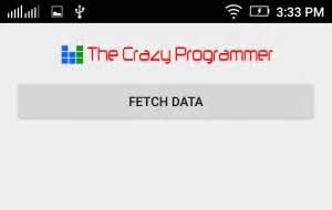 tutorial android volley android volley tutorial with exle the crazy programmer