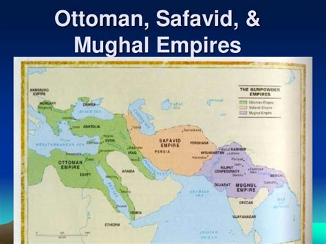 ottoman safavid islamic empires brief intro