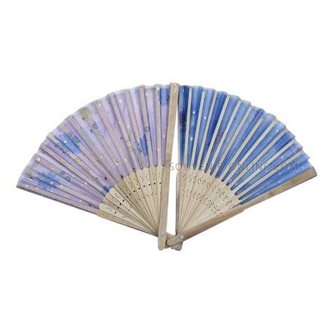 Souvenir Kipas Bulu kipas jepang putih