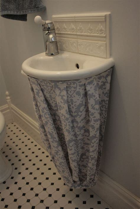 Bathroom Sink Skirt Best 25 Bathroom Sink Skirt Ideas On Sink