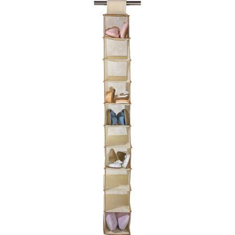 shoe storage argos uk buy home hanging canvas 10 pocket shoe storage at