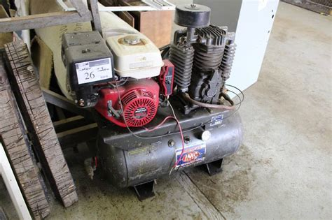 american imc inc air compressor model no 3g3rv serial no 41311 170lb compression winona