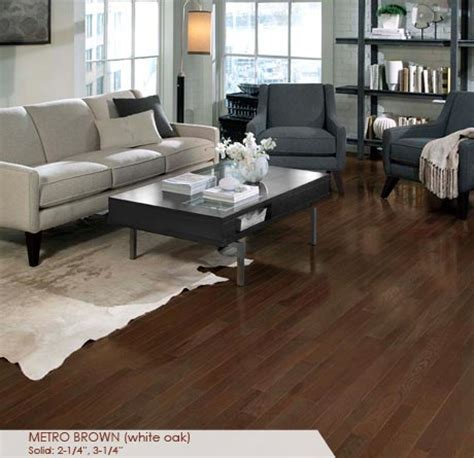 Metro Carpet And Floors by 3 1 4 Quot White Oak Metro Brown Somerset Homestyle