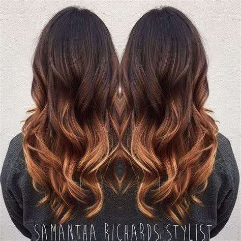 25 best ideas about dark ombre hair on pinterest dark hair with highlights balayage photos black to caramel ombre hair black hairstle picture