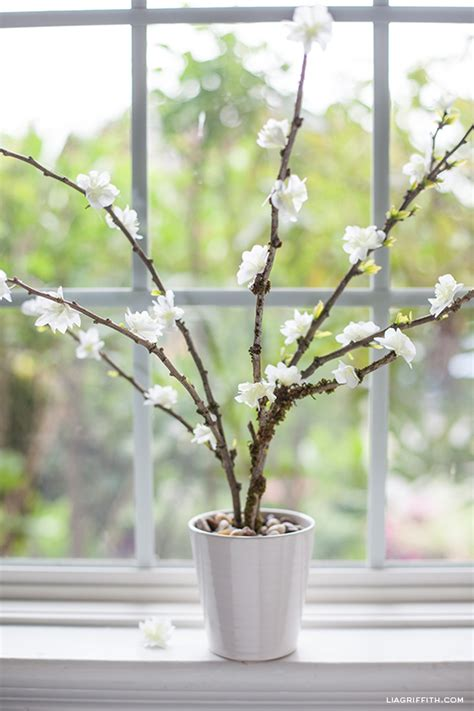 Bloomen Flowers Diy by Diy Paper Flower Blooming Branches Lia Griffith