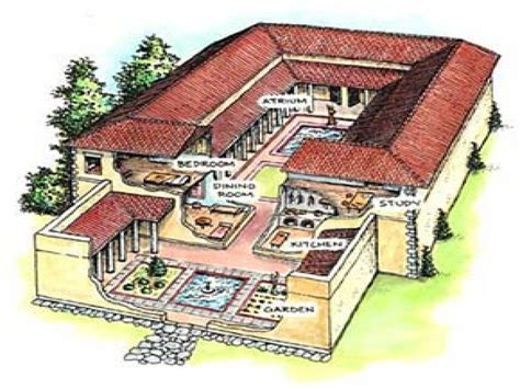 roman style house design ancient greek house styles house style