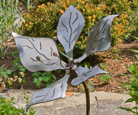 metal garden patina metal flowers czegledi inventions and