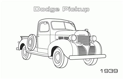 dodge truck colouring pages www imgkid com the image